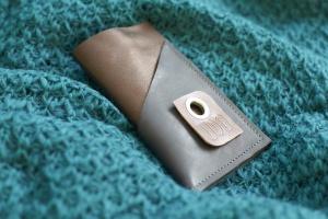 lesmart metallic-braun und blaugrau