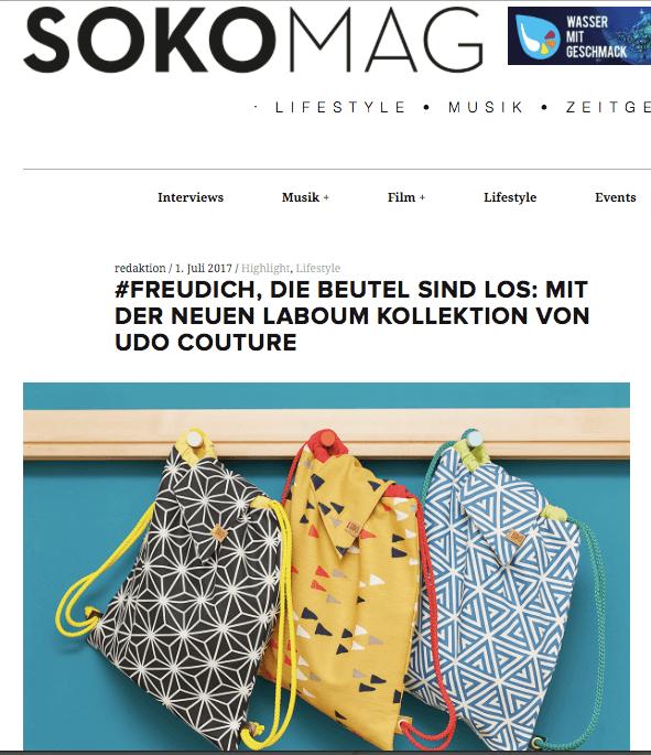 udo couture SOKOMag Juli 2017