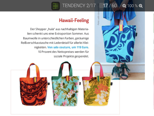 TENDENCY Magazin Juli 2017